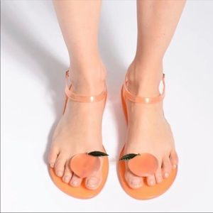 NEW Katy Perry Geli Sandal in Peach Women's Size 5